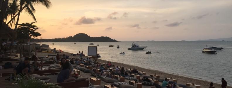 Bophut Beach Coco Tam's beach bar