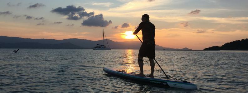 Blog sunset horizon yacht