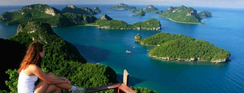 Islands Angthong Marine Park Samui