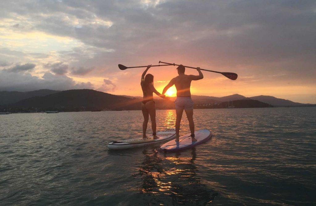 SUP Sunset Tour Koh Samui Thailand